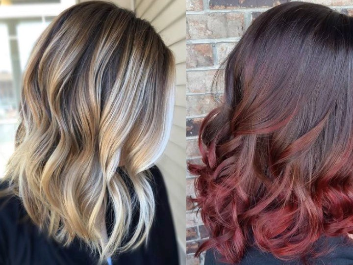 FAQ - The difference between balayage and ombre
